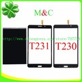 Original T230 T231 LCD Touch Panel For Samsung Galaxy Tab 4 7.0 T230 T231 LCD Display Touch Screen Digitizer Panel With Tracking