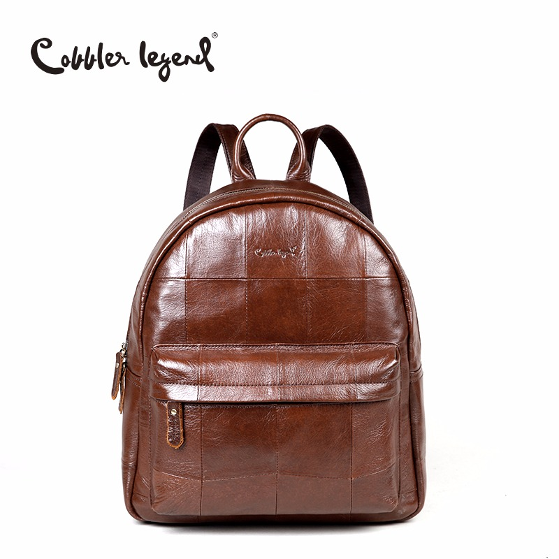 Cobbler Legend Original Brand Women Daily Backpack For Girls Genuine Leather Backpack 2018 New Fashion Large Capacity Travel Bag стоимость
