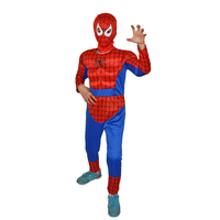 New Avengers Hulk Costumes For Kids Halloween Carnival Party Spiderman Cosplay Boy Kids Clothing Decorations Supplies