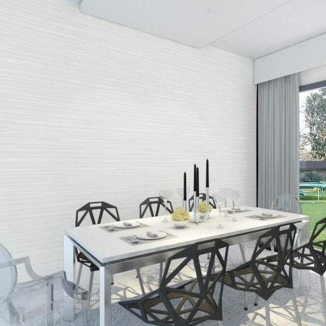 simple moderno gris papel pintado a rayas horizontal 3d saln pared papel decoracin casas de lujo diseo de la raya papel de pared rolls w432 - Papel Pintado Rayas Horizontales
