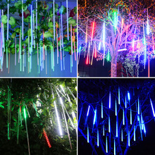 LED Meteor Shower Lights 30CM 50CM Waterproof Xmas Decoration Light Led String Party Christmas lights Outdoor Fairy