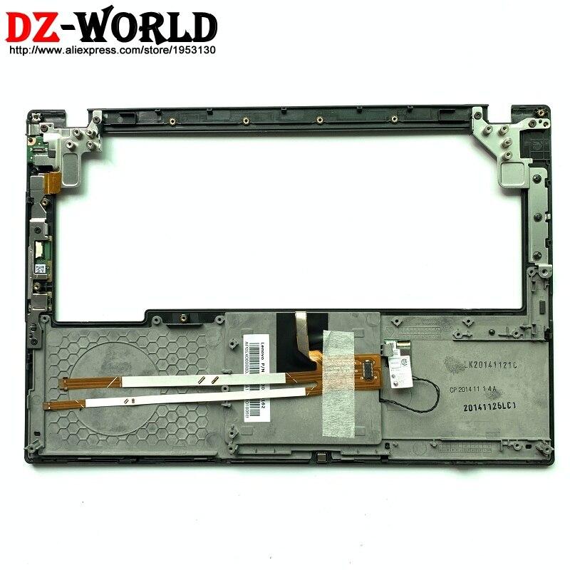 Nouveau Clavier D'origine Lunette Repose-poignets pour Lenovo ThinkPad X240 X250 Avec Touchpad et NFC lecteur d'empreintes digitales carte de commutateur 04X5182