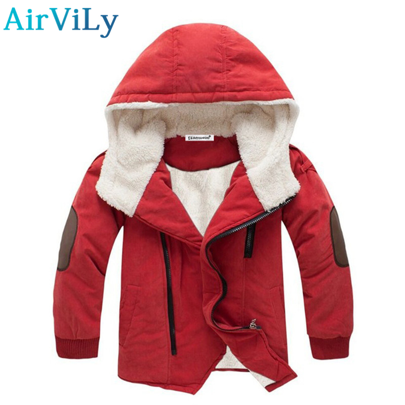 2017 Faux Full Hot Sale 3-11y Baby Boys&girls Cotton Winter Jacket&outwear,children Cotton-padded Jacket,boys Warm Coat Clothes winter jacket men warm coat mens casual hooded cotton jackets brand new handsome outwear padded parka plus size xxxl y1105 142f
