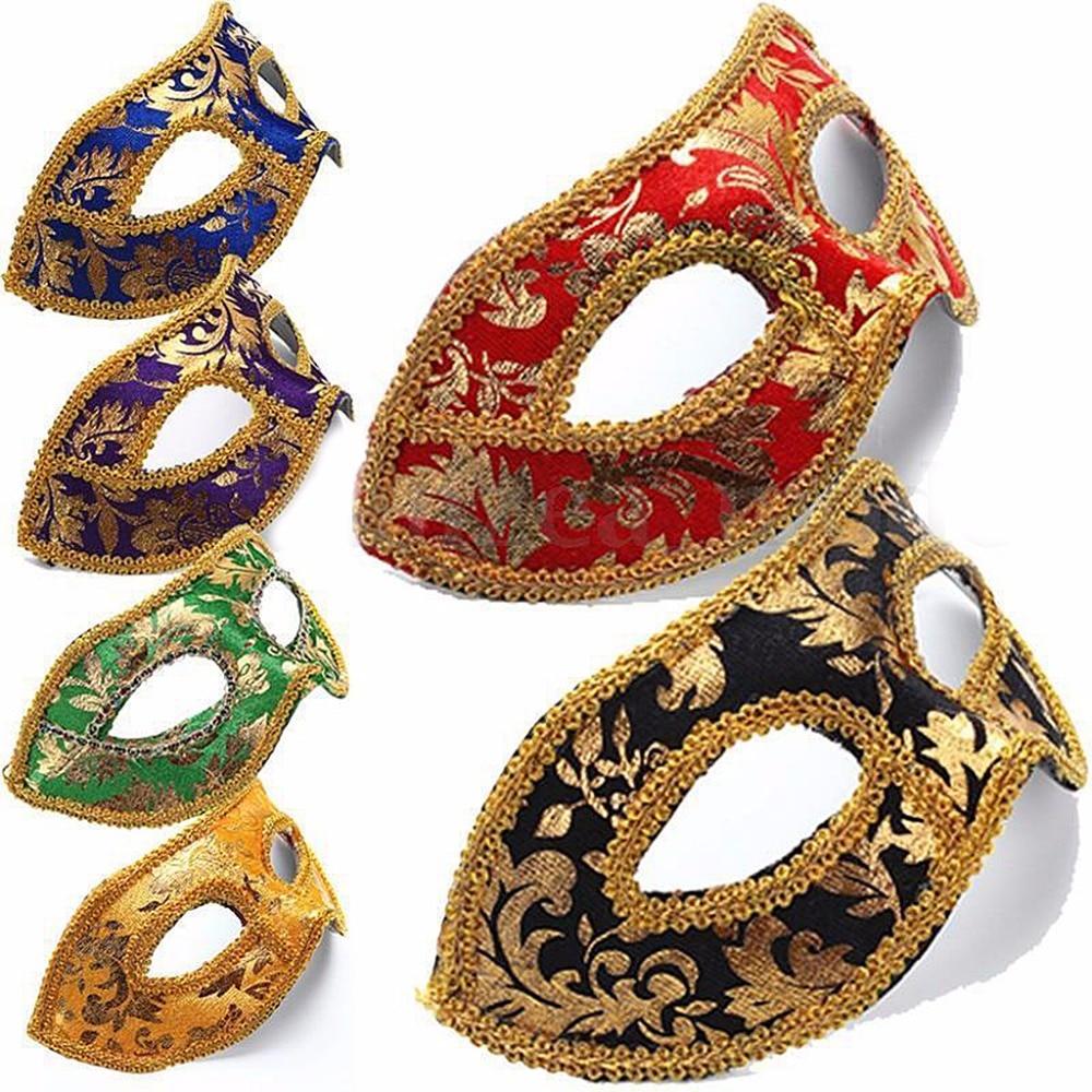 New Hot Sale Venetian Masquerade Fancy Dress Ball Eye Mask Party Halloween Costume Decorative ...
