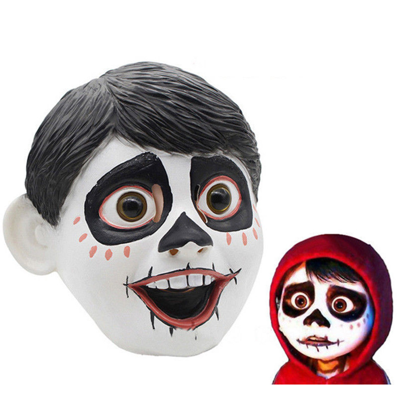 New Latex Masks Dream Travel Travel COCO Boy Modeling Movie Props Factory Direct