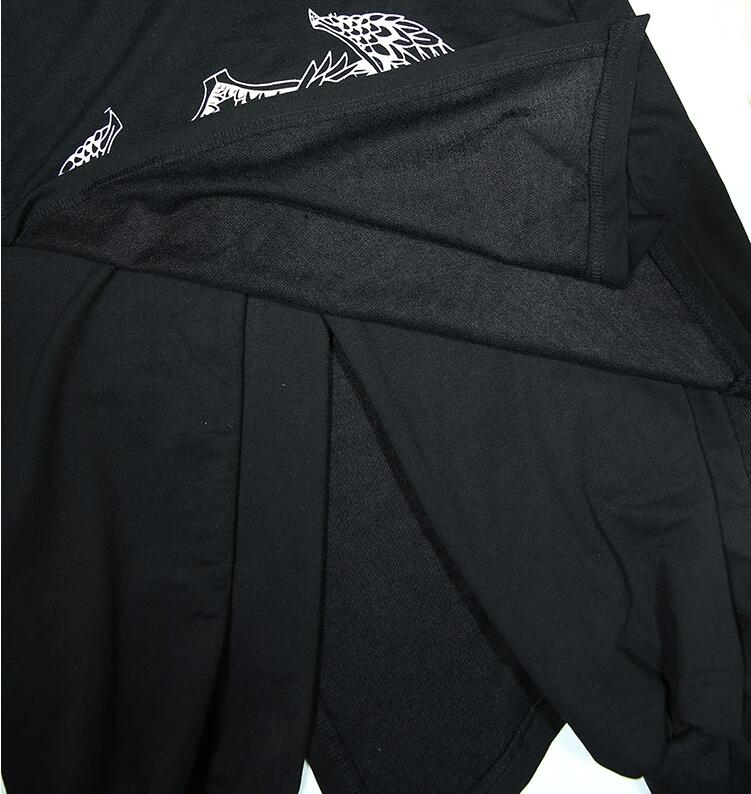 Image 5 - Nuevos pantalones de Hip hop de marea para hombres, personalidad,  club nocturno, DJ culottes falsos, dos faldas, pantalones casuales,  pantalones de peluquero, trajes de actuación para cantantesPantalones  Harén