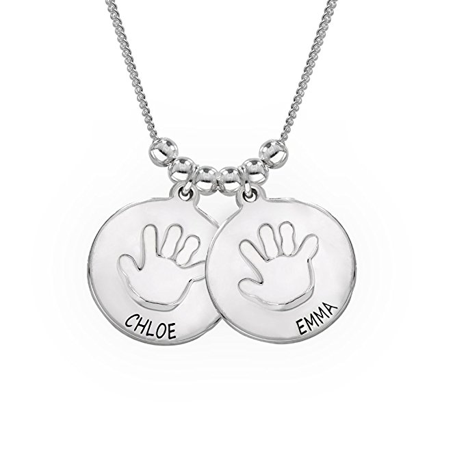 Best Selling Baby Hands Pendant Necklace New Arrival High Quality Necklace Jewelry Custom Made Any Name YP3091