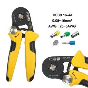 Image 4 - Обжимные клещи VSC8 6 4A VSC9 10 6A VSC10 16 4A 0,08 10 мм2 AWG 23 7, Обжимные Щипцы, обжимные клещи для трубки, обжимные клеммы, ручной инструмент