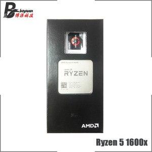 Image 2 - AMD Ryzen 5 1600X R5 1600x3.6 GHz שש ליבות עשר חוט חדש מעבד מעבד YD160XBCM6IAE שקע AM4