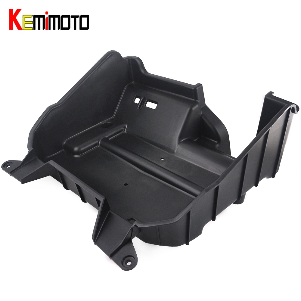 KEMiMOTO Underhood Storage Box for Polaris RZR XP 1000 XP Turbo RZR 900 RZR 4 900 RZR S 1000 XP 4 2016 2017 2018 black shallow cut turbo hood scoop air intake for 2014 2018 all polaris rzr s xp xc 900 4 1000 models