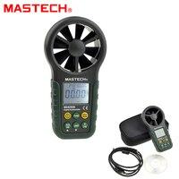MasTech MS6252B цифровой анемометр 9999 отсчетов T & Rh Сенсор ветер Скорость измеритель скорости USB Интерфейс