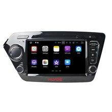 """Klyde 2 DIN 8 """"Android 7.1 Автомобильный Мультимедийный Плеер для KIA K2/РИО 2011-2012 автомобилей Радио стерео 4 ядра dvd-плеер аудио 1024*600"""