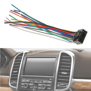 Image 3 - Автомобильный радиоприемник 16 см, стерео провод, штекер, кабель с 16 контактным разъемом для Kenwood, отвечает EIA цветным кодам, автомобильные аксессуары