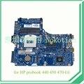 734084 - 001 734084 - 501 para hp probook 440 450 470 laptop motherboard 12241 - 1 48.4YW03.011 AMD 8750 gráficos