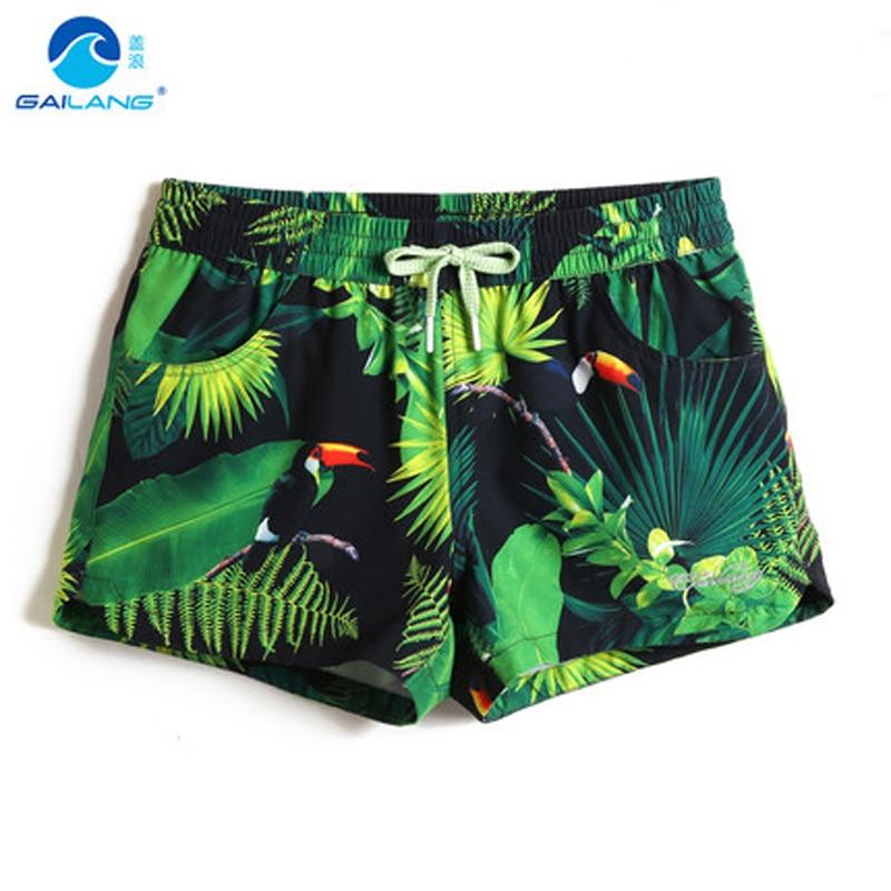 ab20e79bb4 Summer Women beach surfing Trunks sexy low waist Swimwear Quick Dry Lady  board Shorts Sportswear Swimming