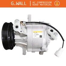 SC06E Auto AC Compressor For Car Toyota Daihatsu Terios 4 Grooves 447220-6910