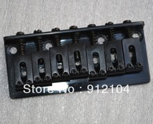 hot selling wholesale and retail black 7 strings electric guitar bridge  guitar bridge