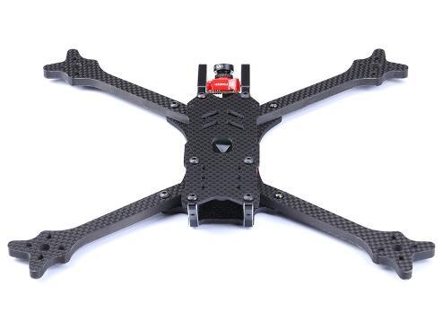 TransTEC Freedom V2 235mm 98g 6mm bras led rc avec kit d'amortisseurs drone fpv kit cadre quadricoptère kit drone pièces de course