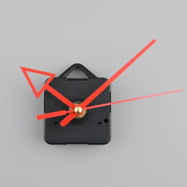 Horloge silencieuse batterie puissance mécanisme de mouvement | Flèche rouge, bricolage main pièce de rechange réparation kit doutils, livraison directe