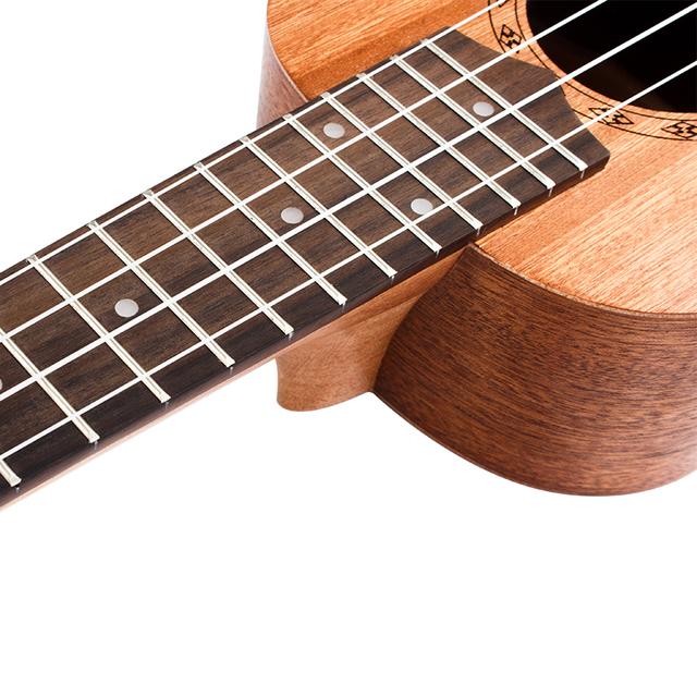 Handmade Soprano Ukulele with Mahogany Fingerboard