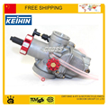 Мотоцикл GY6 JOG RSZ мопедов карбюратор KEIHIN 28 mm PE28 гонки электропитание производительность карбюратор вручную душить