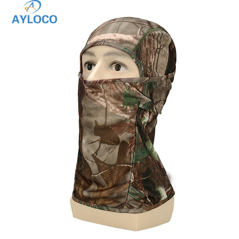 New Army Tactical Training Hunting Quick Dry Multi-functional Hood Mask Paintball Scarf Camouflage Breathable Chief Full Face