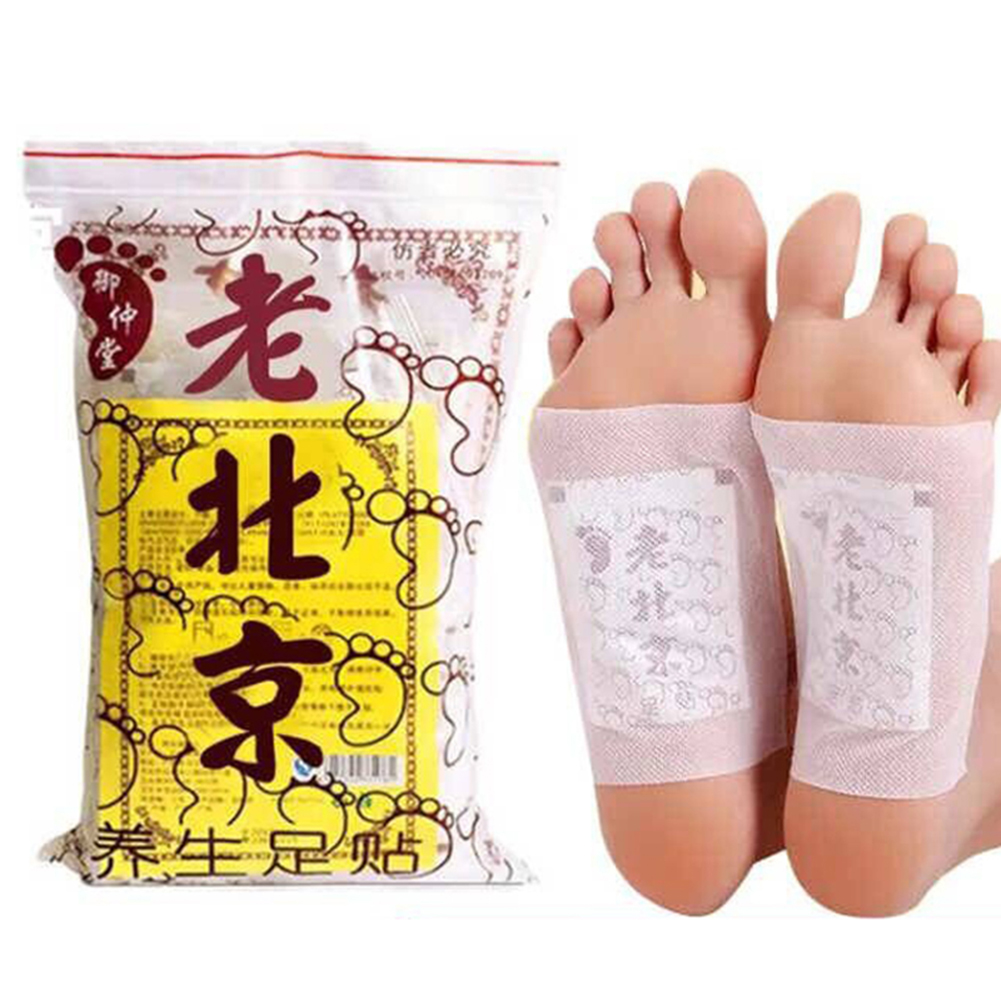 50Pcs Old Beijing Detox Foot Pad Versus Sticky Detox Loss Weight Foot Patch Clean Herbal Glue Health Foot Patch TSLM2