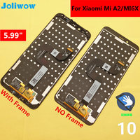 tested! 5.99 For Xiaomi Mi A2 MIA2 6X MI6x LCD Display+Touch Screen Digitizer Assembly Replacement Accessories