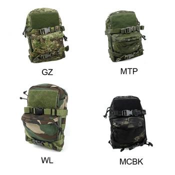 Tactical Multicam Mini Hydration Bag Pouch JPC MOLLE Vest Water Bag 500D Cordura