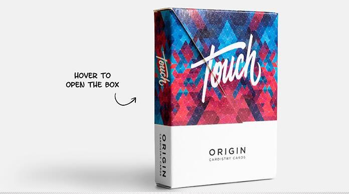 1 Deck Origin Cardistry Touch 2017 CARDISTRY Playing Cards Magic Tricks ...