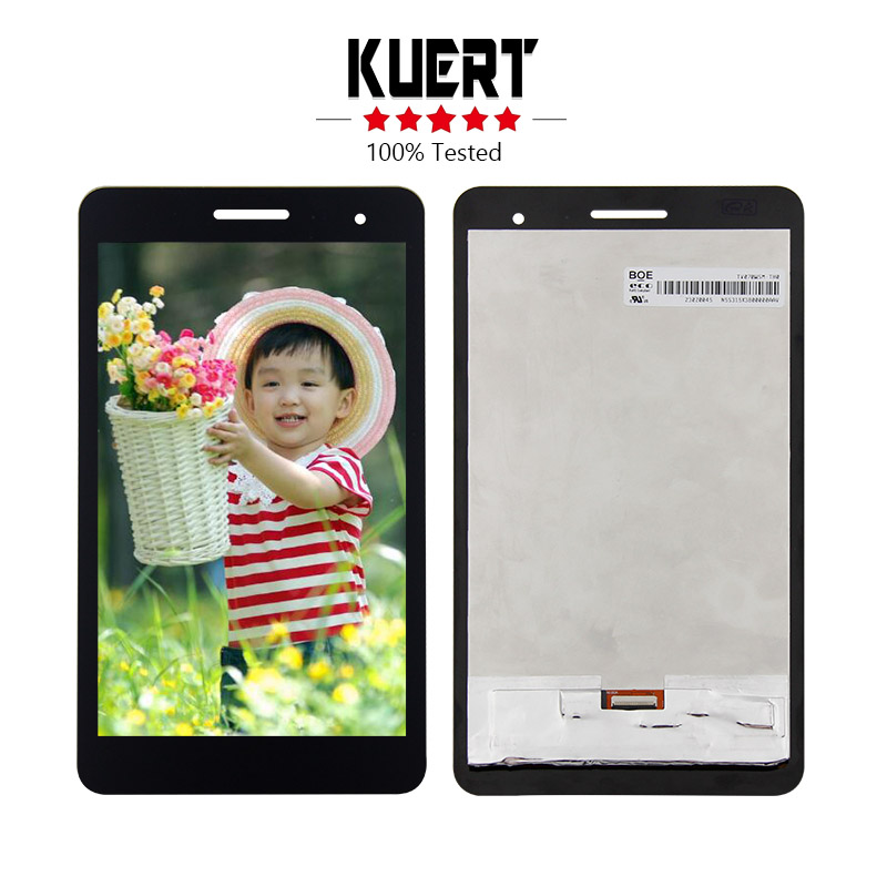 Free Shipping For Huawei Honor Play Mediapad T1-701 T1 701U T1-701U Touch Screen Digitizer Lcd display assembly Replacement for huawei mediapad t1 8 0 3g s8 701u honor pad t1 s8 701 white touch screen panel digitizer glass lens sensor replacement