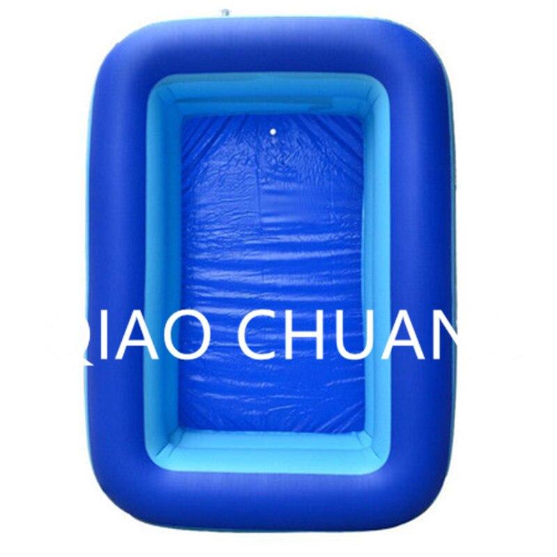 Складной прямоугольник надувной детский морской пул экологичный комфортно ПВХ бытовой Детские мультфильм плавательный бассейн G996