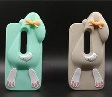 Para Motorola Moto G3 ( G Gen 2015 ) colorido Buck dentes de coelho dos desenhos animados 3D caixa do telefone de borracha de silicone nova chegada