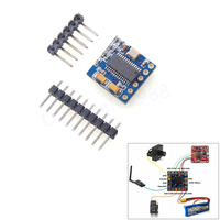 1pcs MICRO MINIMOSD Minim OSD Mini OSD FPV Video Overlay Module For NAZE32 CC3D QAV250 ZMR250