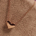 New Women Girl Dress Jewelry 1Pcs Fashion Women Gold Heart Bib Statement Chain Pendant hair Pendant 2017 hot sale