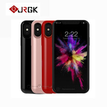 JRGK 2 in1 External battery case Charging Case For Iphone X