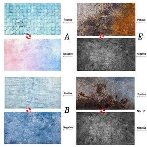 Image 5 - Doble cara diferentes estilos madera cemento textura mármol fotografía telón de fondo papel estudio Prop para alimentos cosméticos Mini artículo