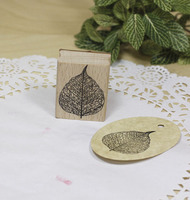 High Quality Vintage Leaf Rubber Stamp 4 5cm Carimbos Wooden Scrapbooking Stamps Carimbo For Card Diy