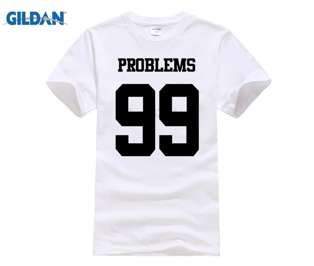a3a5be680c DILDAN 2018 Hot Sale I Got 99 Problems But Ain't 1 One T Shirt Valentines  King Queen Gift Wifey Love Tee shirt
