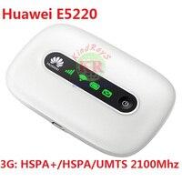 Unlocked Original 3g Wifi Wireless Router Huawei E5220 HSPA HSPA UMTS 2100Mhz PK E5330 E587 E5756