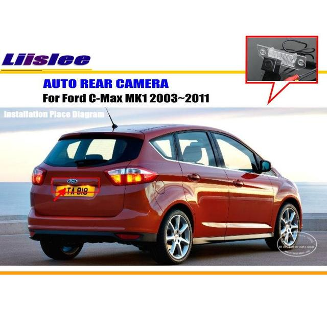Liislee Auto Kamera Für Ford C max MK1 2003 ~ 2011/Rückansicht ...
