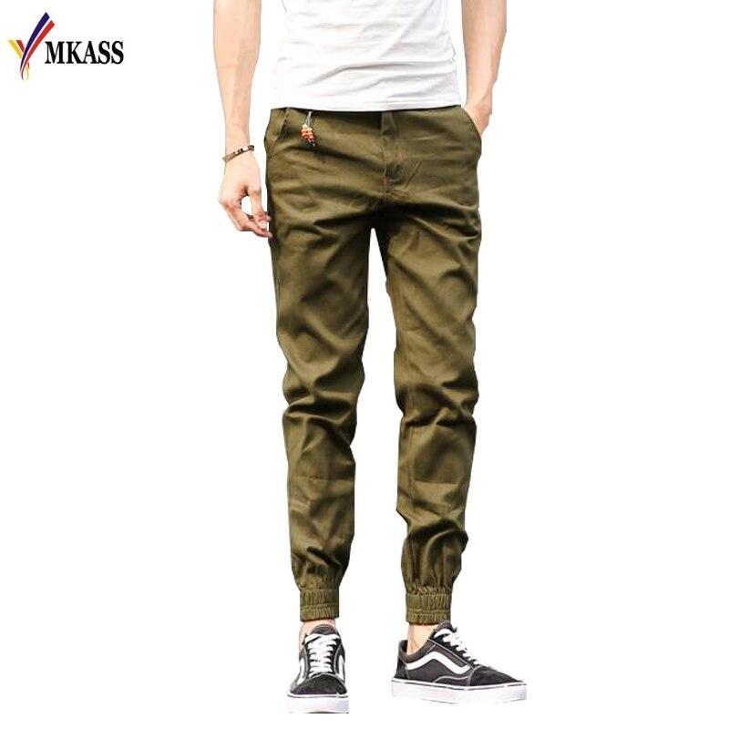 Venta caliente 2018 alta calidad nueva marca hombres pantalones de pie de haz de impresión Joggers activos pantalones lápiz hombres Hip Hop Sweatpants