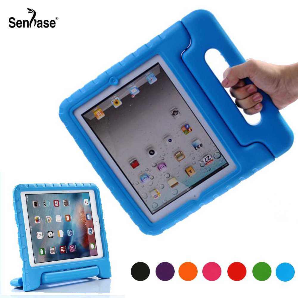 EVA Portable Handle Stand Kids Safe Foam Shockproof Cover For Apple iPad 2 3 4 A1458 A1459 A1416 A1397 Full Body Protection CaseEVA Portable Handle Stand Kids Safe Foam Shockproof Cover For Apple iPad 2 3 4 A1458 A1459 A1416 A1397 Full Body Protection Case