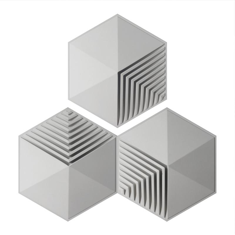 Ścienne z betonu cegły silikonowe formy cementu ściany płytki silikonowe formy prosta geometria płytki formy w Formy do gliny od Dom i ogród na  Grupa 1