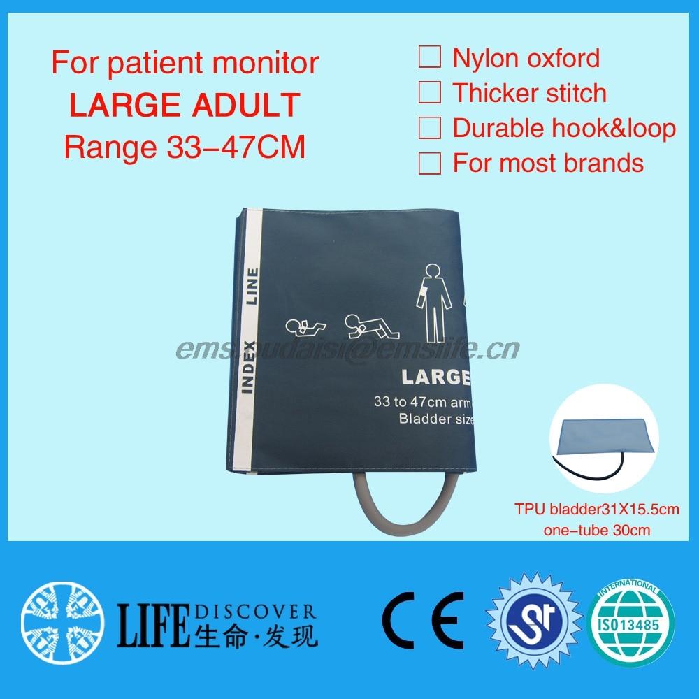 Extra grote bloeddrukarmmanchet voor volwassenen, enkele buis, nylon - Huidverzorgingstools - Foto 1