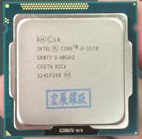 Intel Core i5-3570 I5 3570 Processeur (6 M Cache, 3.4 GHz) LGA1155 ordinateur pc De Bureau CPU Quad-Core CPU