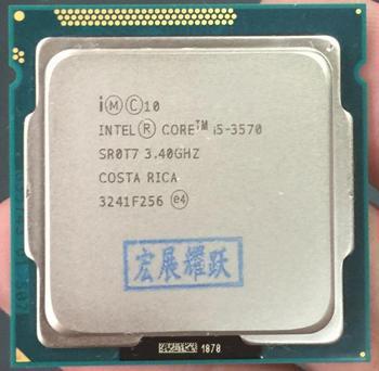Intel Core i5-3570 I5 3570 Processor (6M Cache, 3.4 GHz) LGA1155 PC computer Desktop CPU Quad-Core CPU