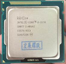 Processeur Intel Core i5-3570 I5 3570 (Cache 6 M, 3.4 GHz) ordinateur de bureau LGA1155 CPU Quad-Core(China)