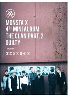 MONSTA X 4TH MINI ALBUM - THE CLAN 2.5 PART.2 GUILTY [GUILTY Ver. Ver. Release Date 2016.10.05 Kpop exo 4th album repackage the war the power of music chinese ver korean ver 2 version set release date 2017 09 06