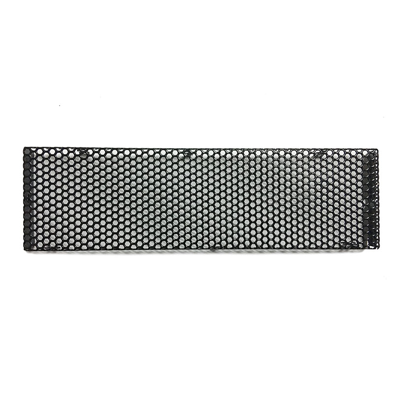 New Computer Main Chassis Front Bezel Dustproof Filter Components Net Cooling Accessories Black Aluminum alloy Protective Net